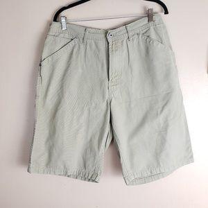 Gap Jean Carpenter Shorts Tan Size 34 F3